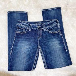 *Silver Jeans Suki Straight Jeans Sz 29 X 30